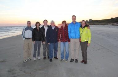 RAC team – Kiawah Island, SC, November 2014.