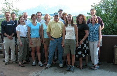 RAC team – Jackson Lake, WY, July 2005.