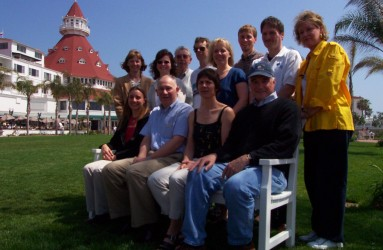 RAC team – San Diego, CA, March 2001.