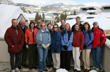 RAC team – Big Sky, MT, February 2006.