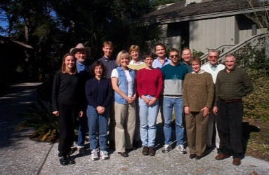 RAC team – Kiawah Island, SC, January 2000.