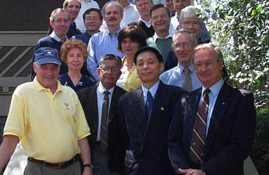John Till at an ICRP committee four meeting at Kiawah Island in 1999.