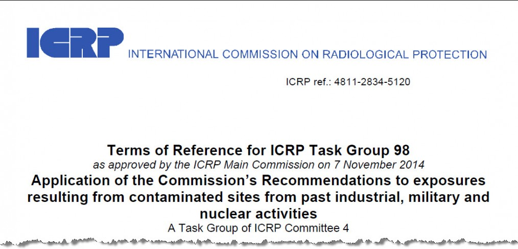 Art Rood selected to be a member of ICRP Task Group 98