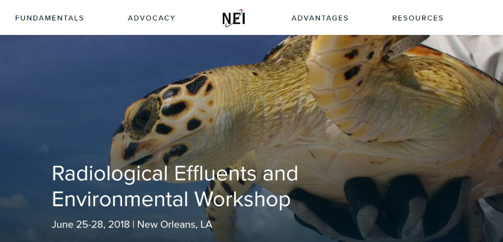 2018 NEI Radiological Effluents and Environmental Workshop