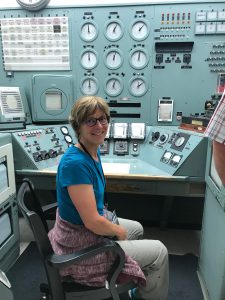 Hanford Site B Reactor control room