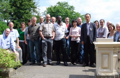 Participants and lecturers for the Bristol, UK, course that RAC collaborated to present in June 2009.