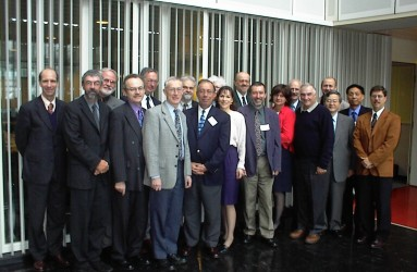 John Till at an ICRP committee four meeting at The Hague in 2001.