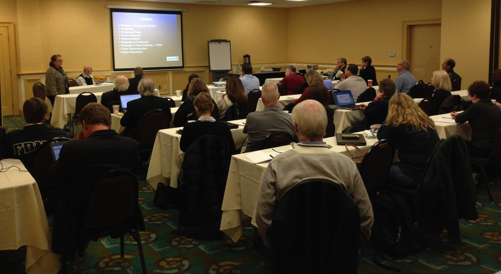 NCRP SC3-1 discusses its work at the New England Radiological Health Conference.