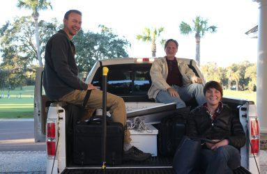RAC team meeting transportation provided by John Till.