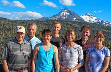 RAC team members at a July 2016 meeting in Sisters, Oregon.
