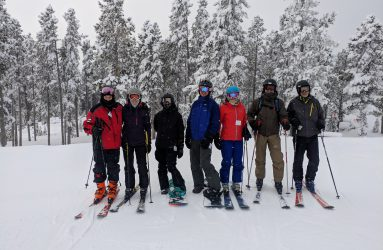 The RAC team hit the slopes of Big Sky, MT in February 2019